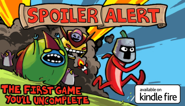 Spoiler Alert out now on Kindle & Fire TV!